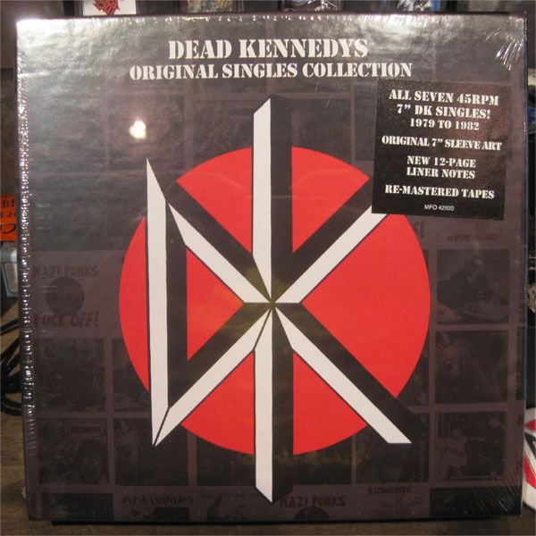 "DEAD KENNEDYS 7"" SINGLE BOX"