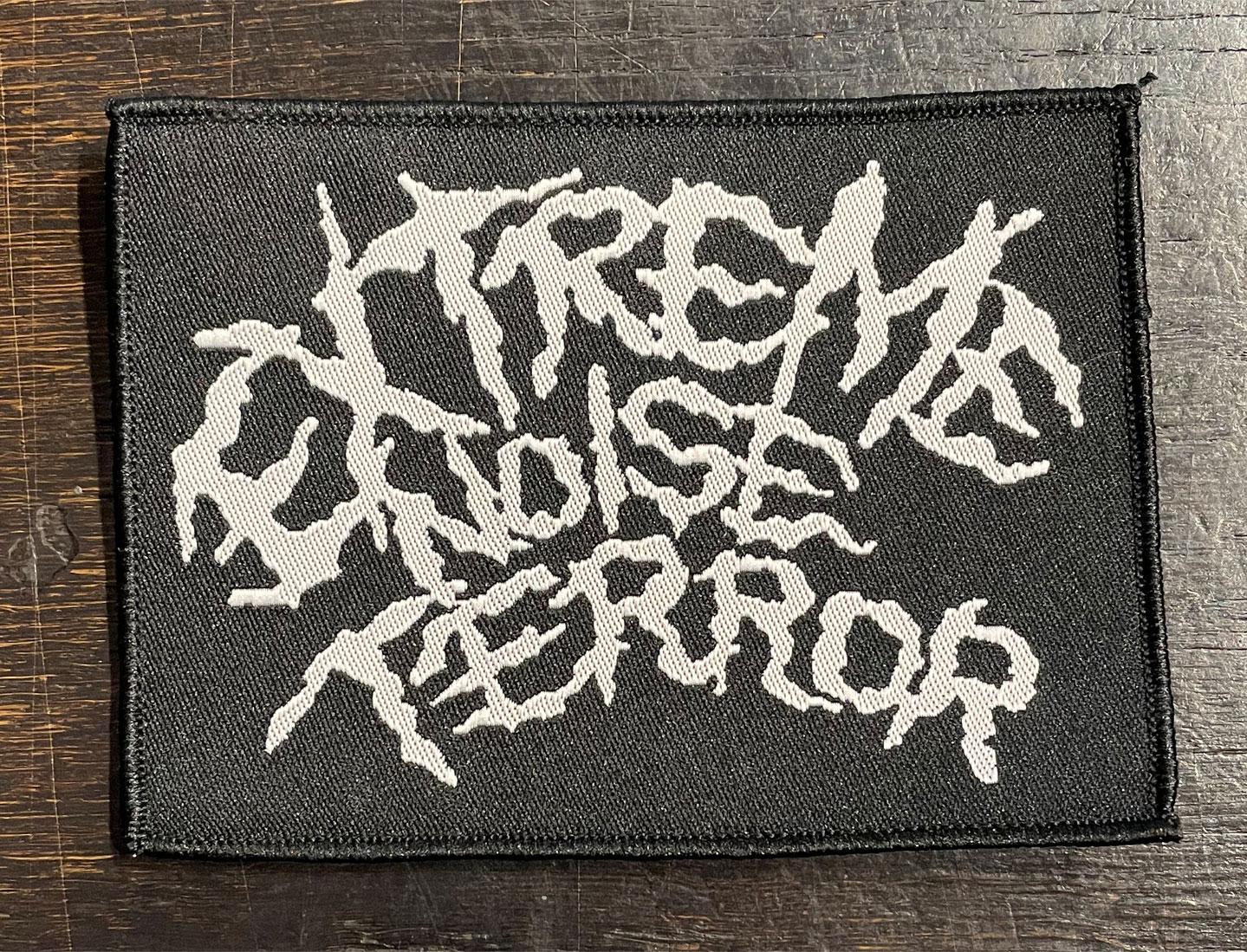 EXTREME NOISE TERROR 刺繍ワッペン LOGO オフィシャル