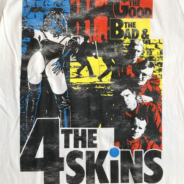 4SKINS Tシャツ The Good, The Bad & The 4 Skins