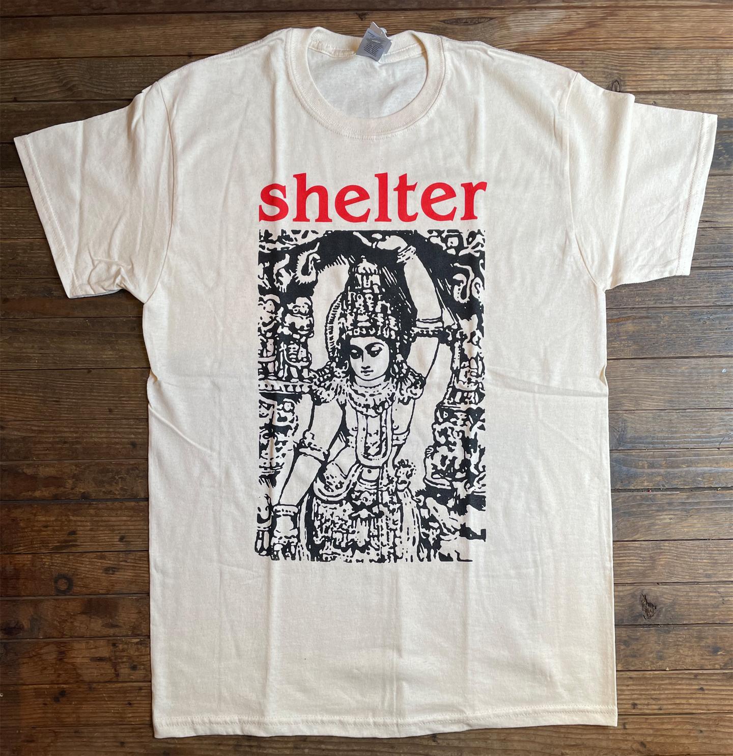 SHELTER Tシャツ オフィシャル!