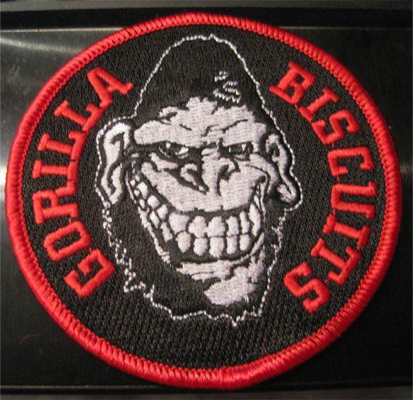 GORILLA BISCUITS 刺繍ワッペン GORILLA