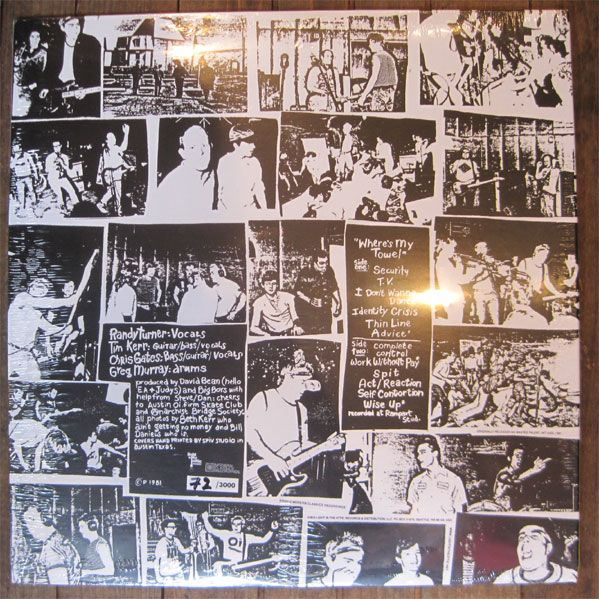 "Big Boys 12"" LP Where's My Towel / Industry Standard"