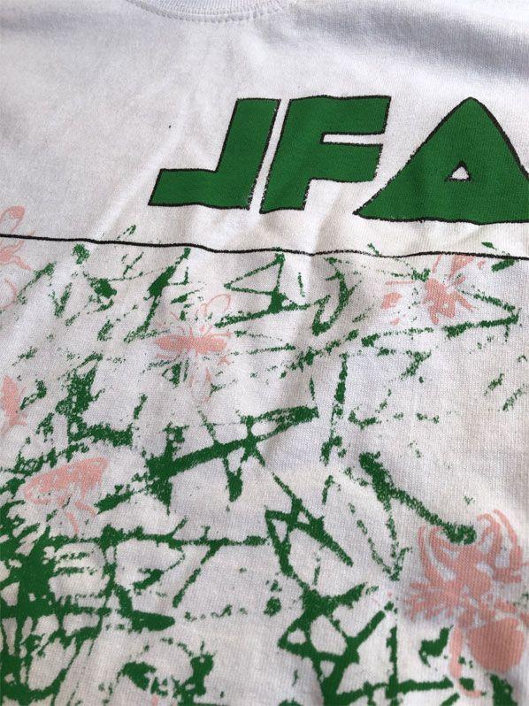 B品! JFA Tシャツ NOWHERE BLOSSOMS