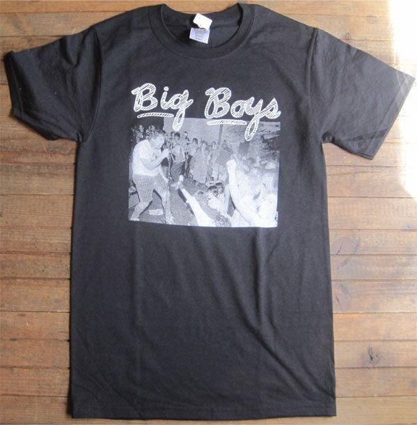 BIG BOYS Tシャツ LIVE PHOTO
