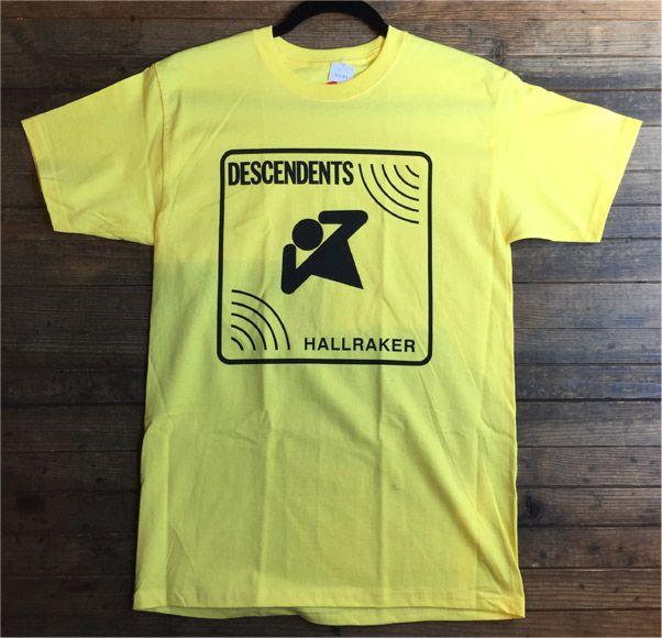 DESCENDENTS Tシャツ HALLRAKER