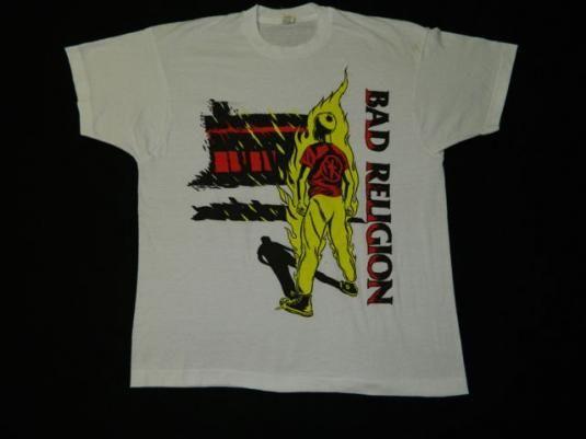 BAD RELIGION Tシャツ SUFFER オフィシャル!