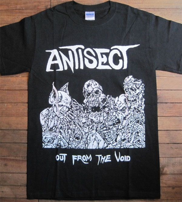 ANTISECT  Tシャツ out from the void BIG PRINT