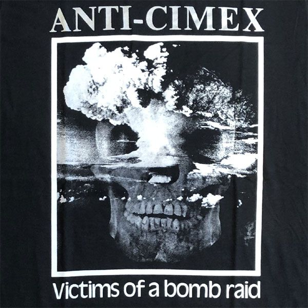 ANTI CIMEX Tシャツ victim of a bombraid オフィシャル