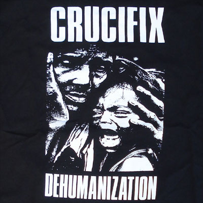 CRUCIFIX Tシャツ Dehuman