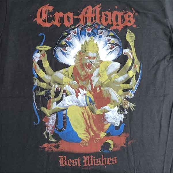 CRO-MAGS Tシャツ DOWN, But Not Out 89' オフィシャル!
