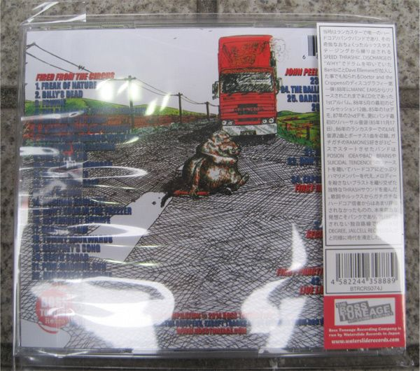 DOCTOR AND THE CRIPPENS CD+DVD FIRED FROM THE CIRCUS [奇行]