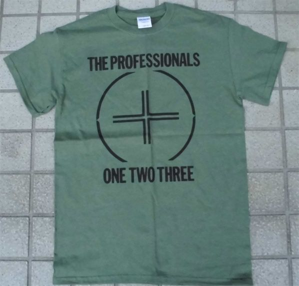 THE PROFESSIONALS Tシャツ ONE TWO THREE