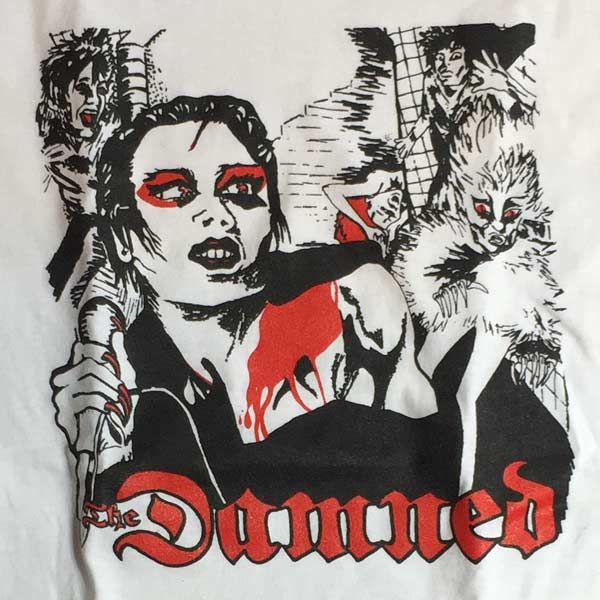 THE DAMNED Tシャツ DAVE
