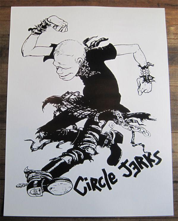 CIRCLE JERKS ポスター MOSH