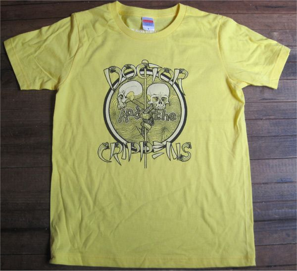 DOCTOR AND THE CRIPPENS Tシャツ オフィシャル