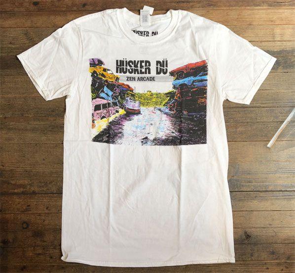 HUSKER DU Tシャツ Zen Arcade オフィシャル!