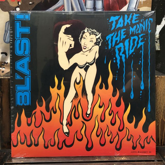 BL'AST! LP Take The Manic Ride
