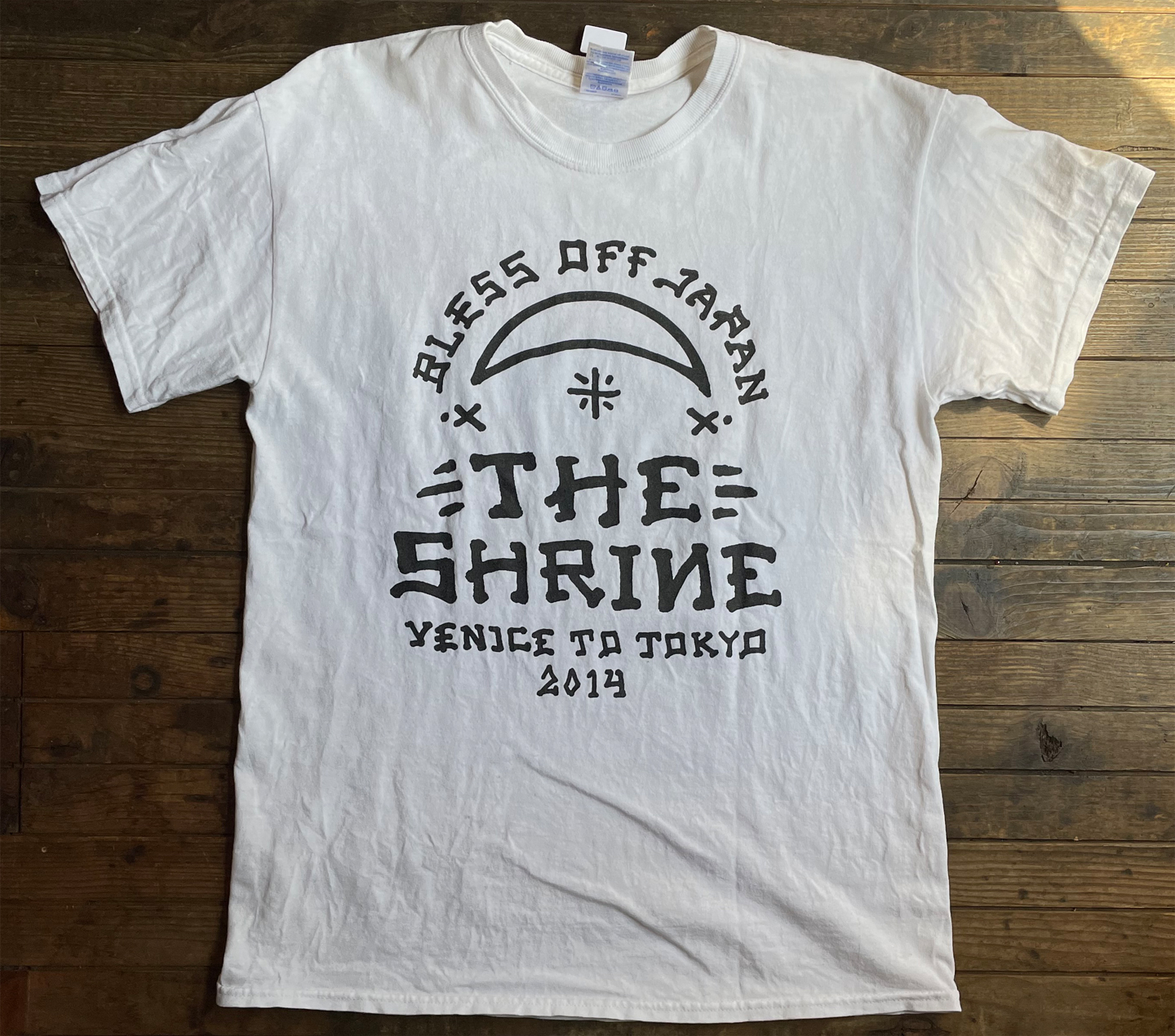 USED! THE SHRINE Tシャツ TOUR