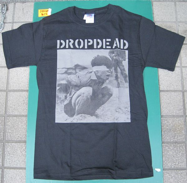 DROPDEAD Tシャツ PHOTO オフィシャル!