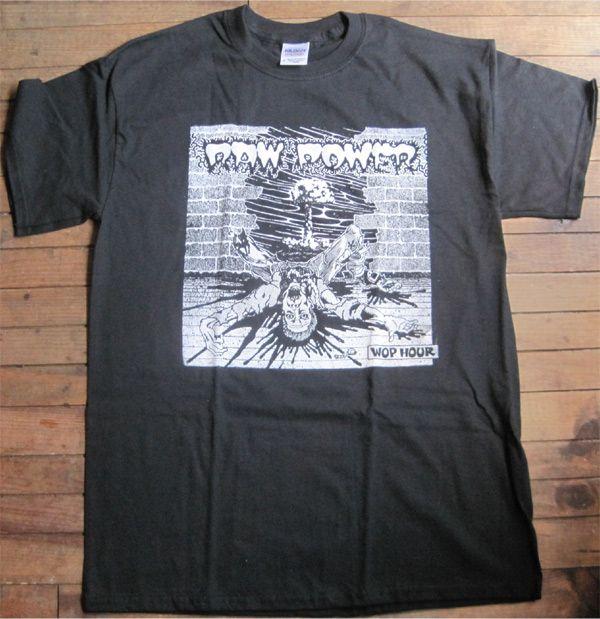 RAW POWER Tシャツ WOP HOUR