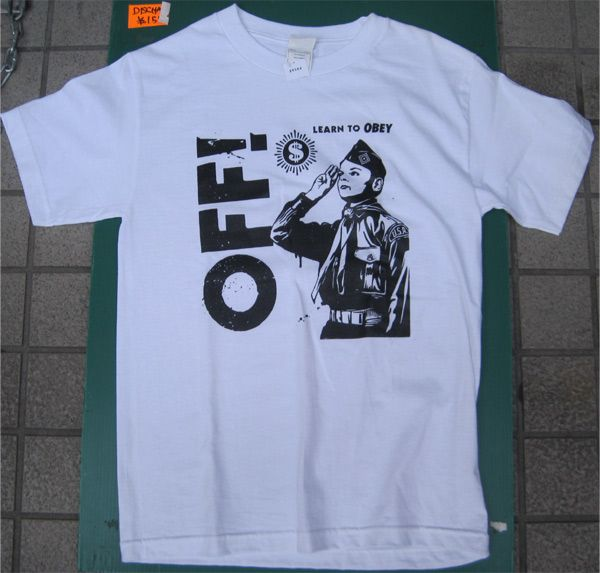 OFF! Tシャツ Learn To Obey