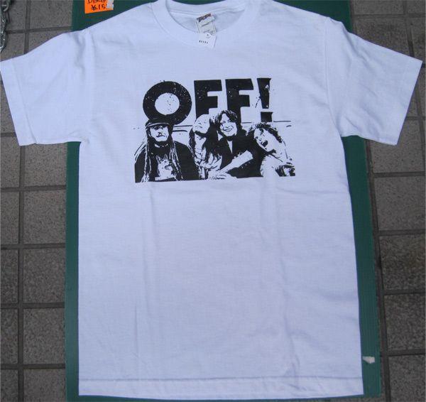 OFF! Tシャツ PHOTO