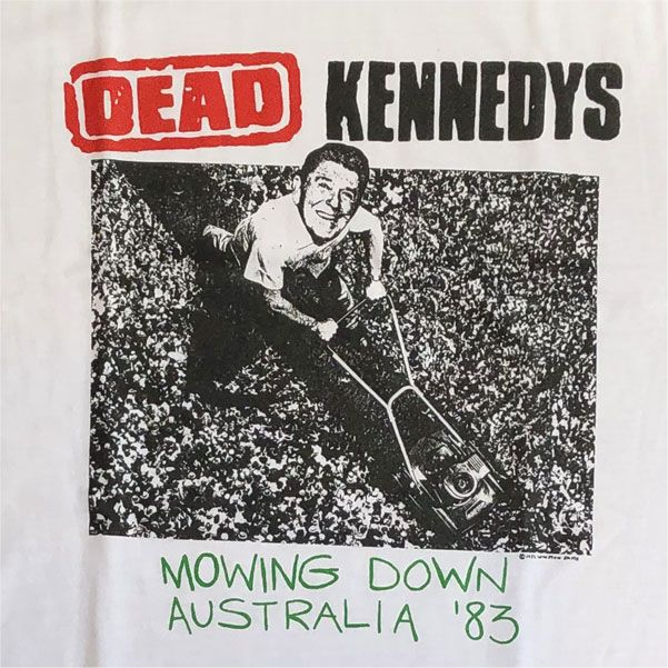 DEAD KENNEDYS Tシャツ Mowing Down Australia '83