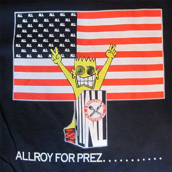 ALL Tシャツ ALLROY FOR PREZ.......