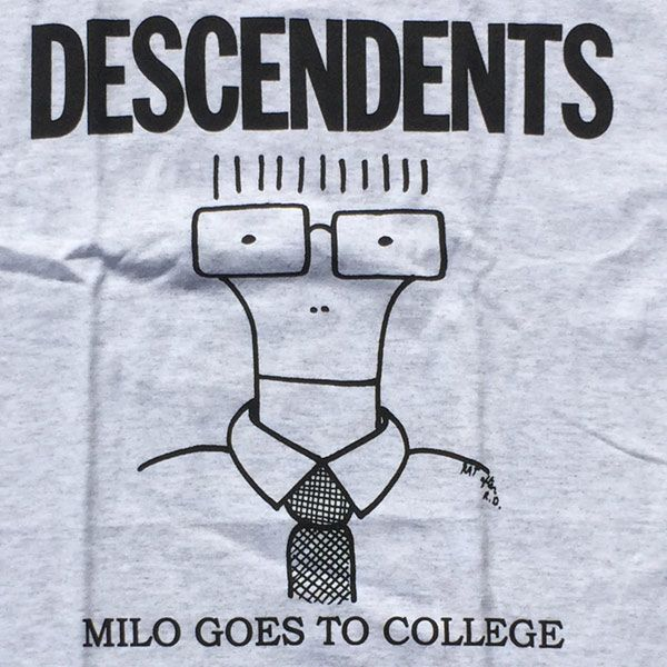 DESCENDENTS Tシャツ MILO GOES TO COLLEGE