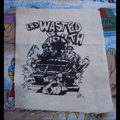 WASTED YOUTH PATCH CAR