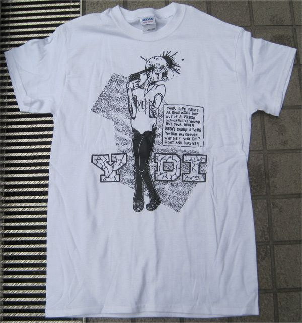 YDI Tシャツ FIGHT AND SURVIVES