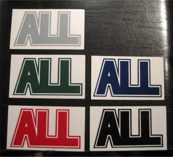 ALL ステッカー ロゴ