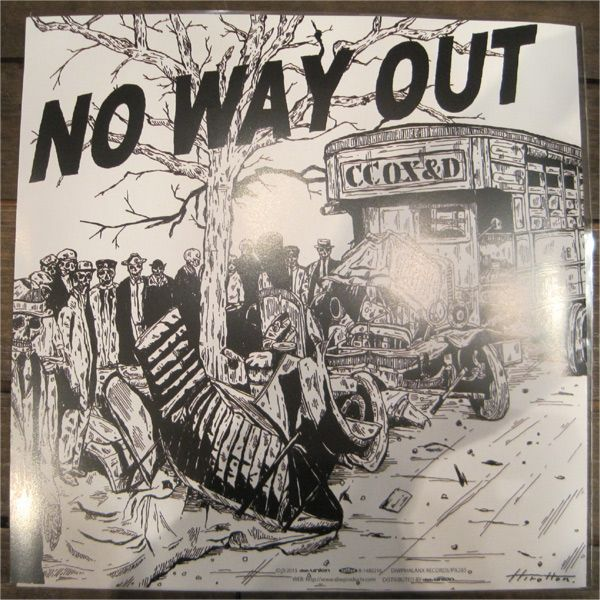 "CROCODILE COX and the DISASTER 7"" EP SIREN/NO WAY OUT"
