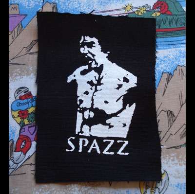 SPAZZ PATCH KANG-FU
