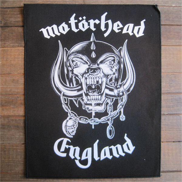 MOTORHEAD BACKPATCH ENGLAND
