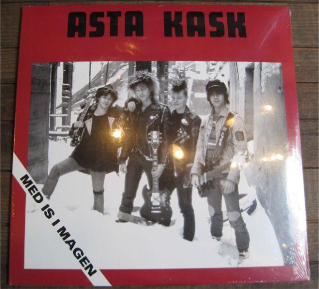 "ASTA KASK 12"" LP MED IS I MAGEN"