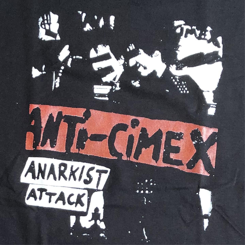 ANTI CIMEX Tシャツ ANARKIST ATTACK