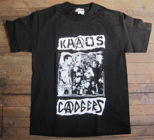 Kaaos / Cadgers Tシャツ SPLIT
