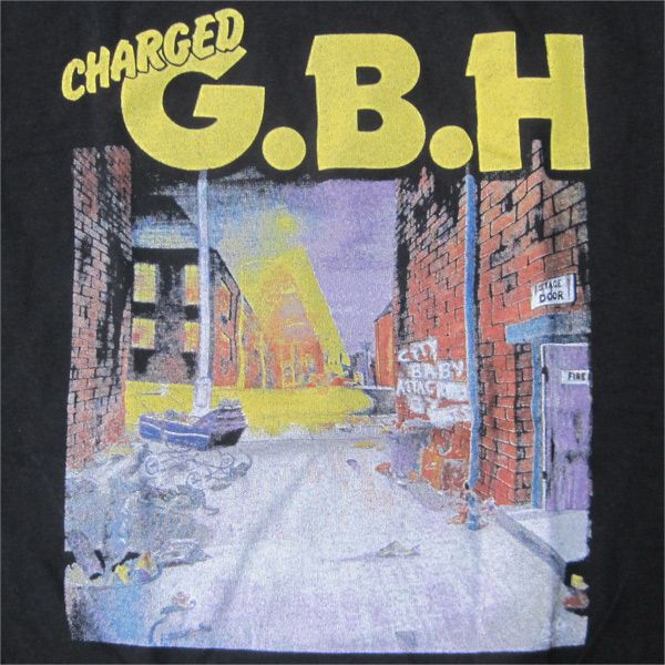 G.B.H Tシャツ CITY BABY ATTACKED BY RATS 2