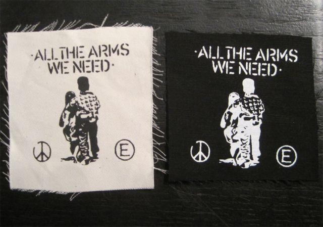 FLUX OF PINK INDIANS PATCH ALL THE ARMS WE NEED