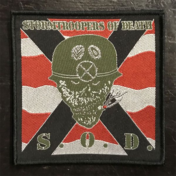 S.O.D 刺繍ワッペン STORMTROOPERS OF DEATH