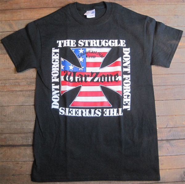 WARZONE Tシャツ DONT FORGET THE STRUGGLE... OFFICIAL!