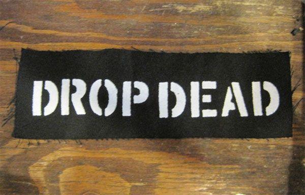 DROP DEAD PATCH ロゴ