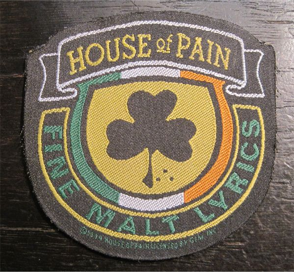 HOUSE OF PAIN DEADSTOCK刺繍ワッペン!