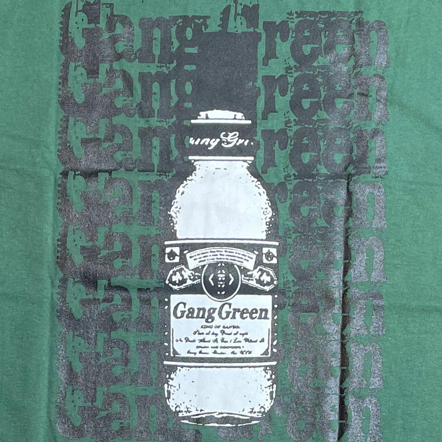 GANG GREEN Tシャツ NAME & BUD