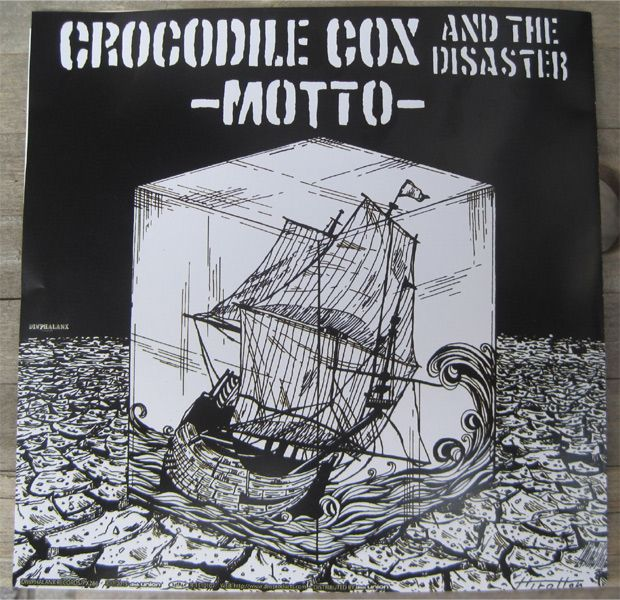 "CROCODILE COX and the DISASTER 7"" EP 灯/MOTTO"