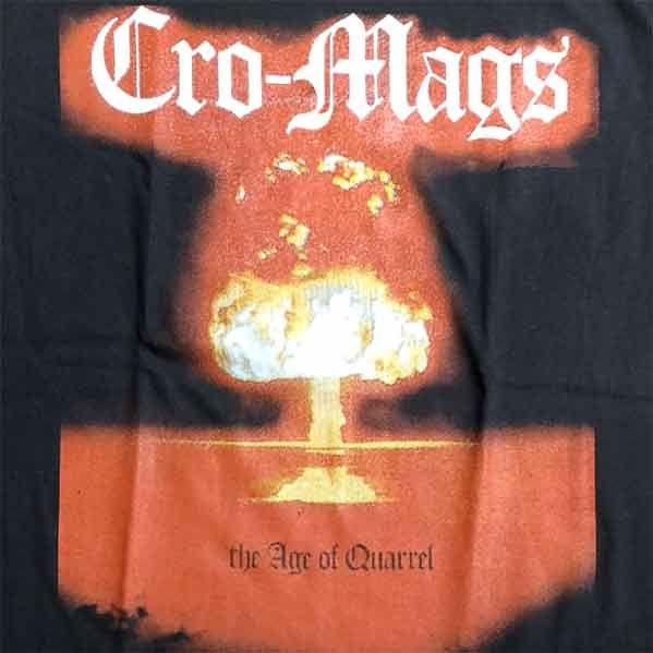 CRO-MAGS Tシャツ The Age of Quarrel4