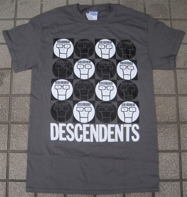 DESCENDENTS Tシャツ MANY MILO