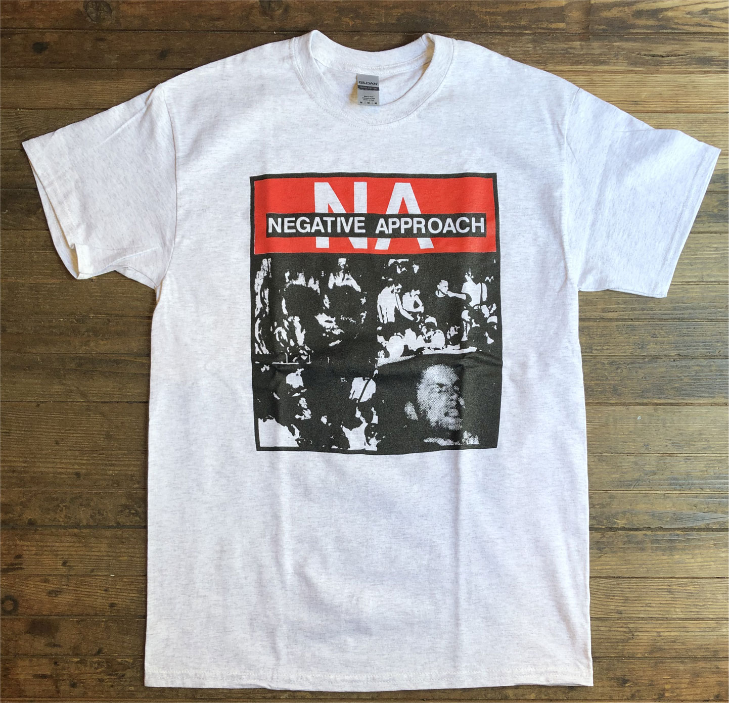 NEGATIVE APPROACH Tシャツ PHOTO 3