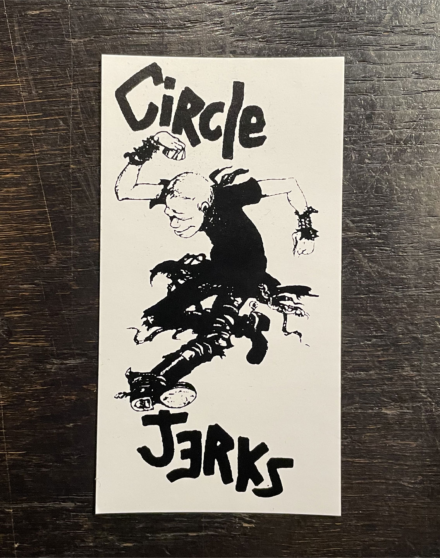 CIRCLE JERKS ステッカー MOSH2